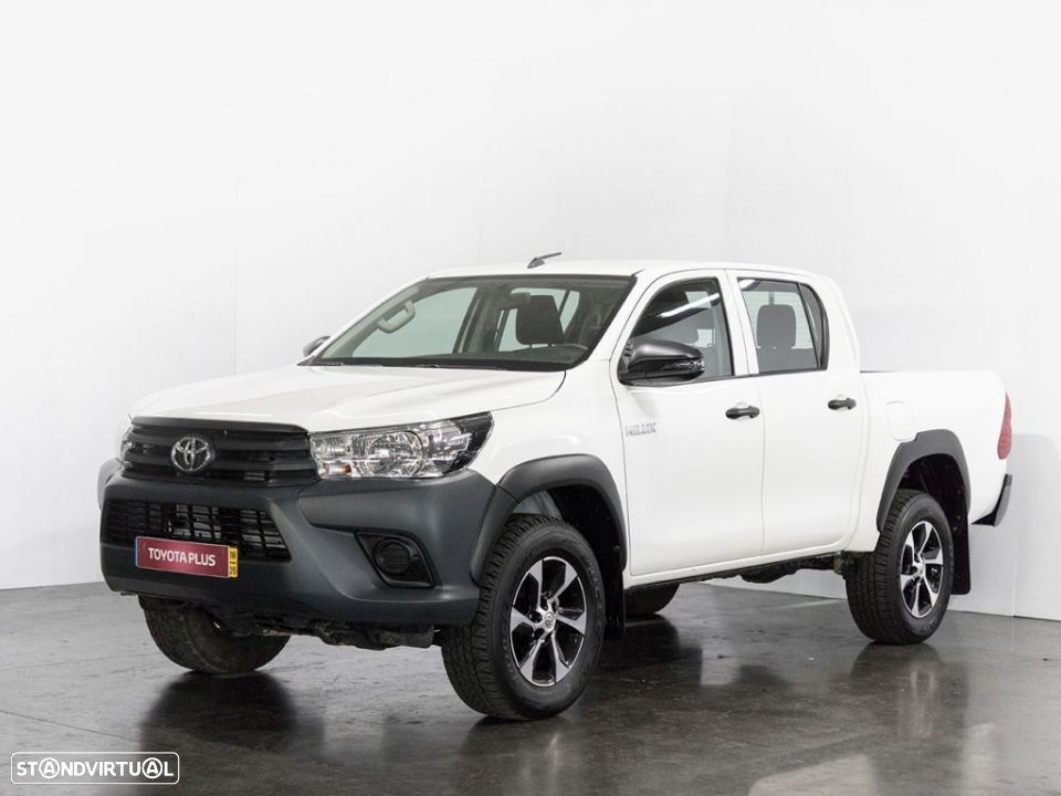 Toyota Hilux 4x4 Cabina Dupla Cx Metálica - 1