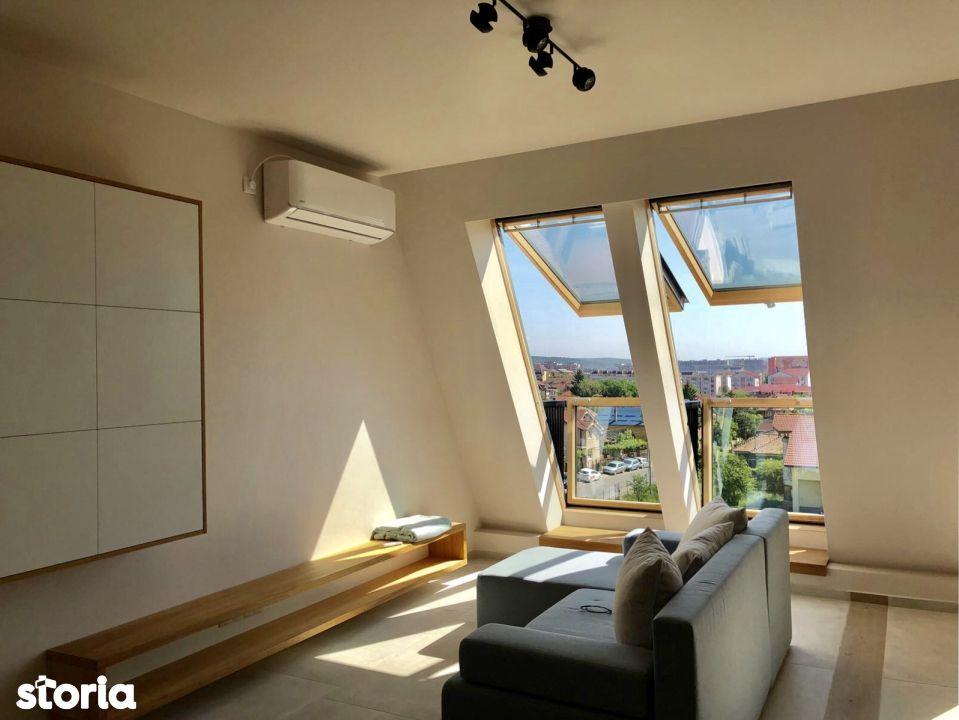 Apartament de inchiriat, Cluj (judet), Strada Sarmisegetuza - Foto 4