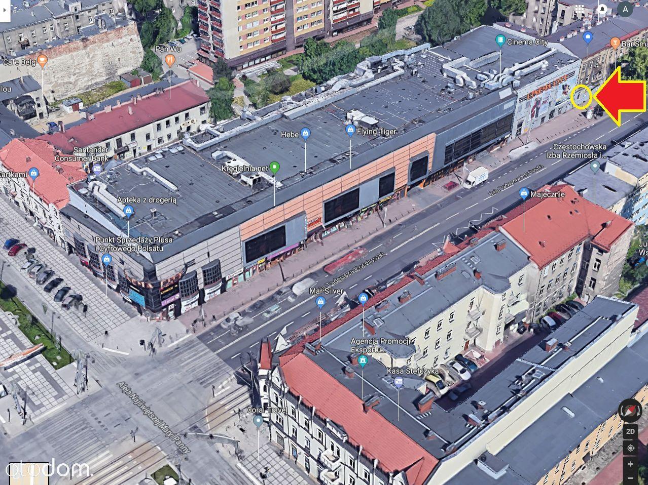 Lokal użytkowy na wynajem, Częstochowa, Centrum - Foto 10
