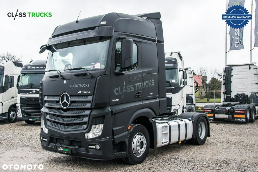 Mercedes-Benz Actros 1845 LS Bigspace  Mercedes Benz 1845 BigSpace / BLACK EDITION / UNIKATOWY - 1