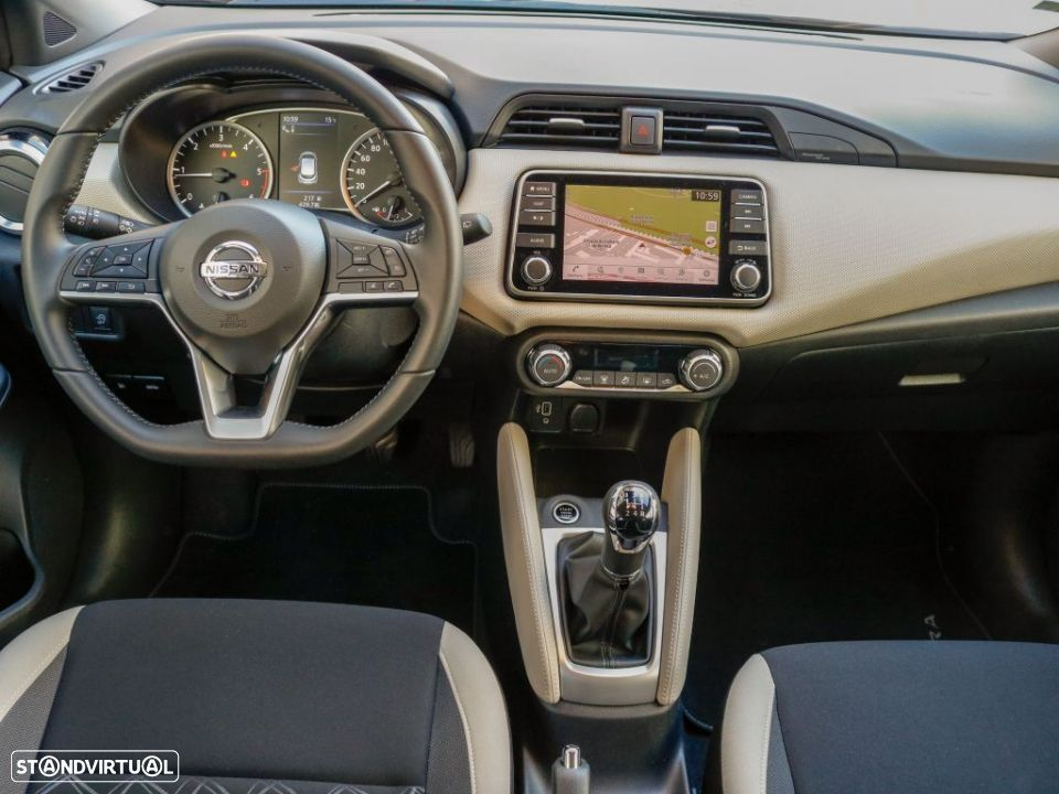 Nissan Micra 1.5dCi 66 kW (90 CV) S&S N-Connecta P.360+P.V.LED - 12