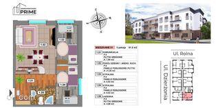 Katowice- M1 Apartament 3 pokojowy - 51,45m2