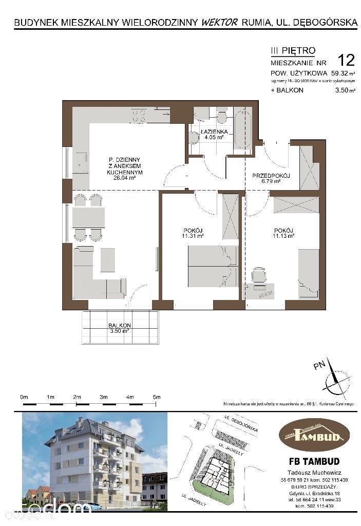 Mieszkanie na sprzedaż, Rumia, wejherowski, pomorskie - Foto 1020