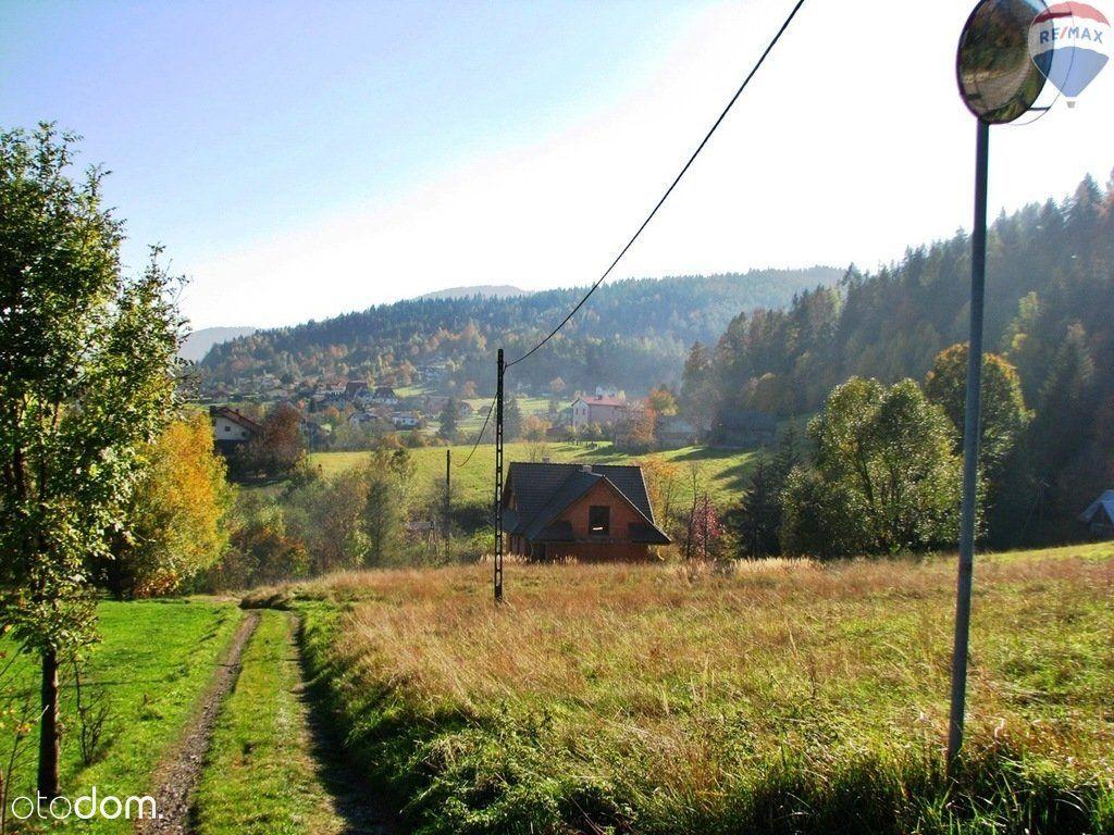 Działka na sprzedaż, Lipowa, żywiecki, śląskie - Foto 5