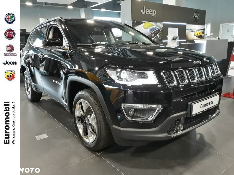Jeep Compass , 2019r. Limited 1,4 170 KM 4x4 AT9 - 4