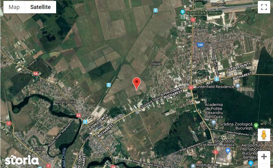 Teren de Vanzare, Ilfov (judet), Otopeni - Foto 3