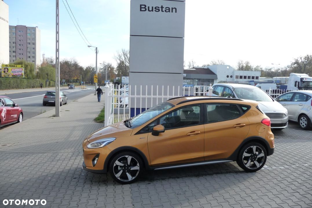 Ford Fiesta 1.0 EcoBoost 100 KM M6 Active 2 Luxe Yellow + pakiety KREDYT 0% - 1