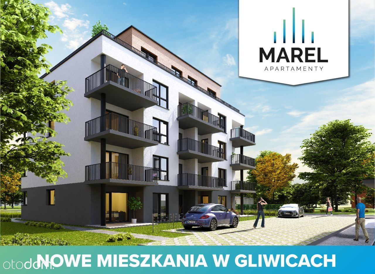 Mieszkanie na sprzedaż, Gliwice, śląskie - Foto 1006