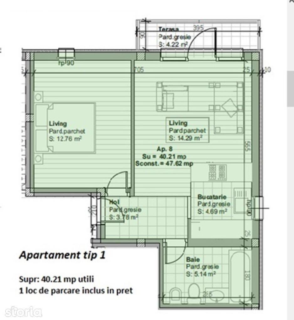 Apartament de vanzare, Maramureș (judet), Strada Salciei - Foto 2