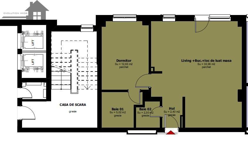 Apartament de vanzare, Timisoara, Timis, Complex Studentesc - Foto 3