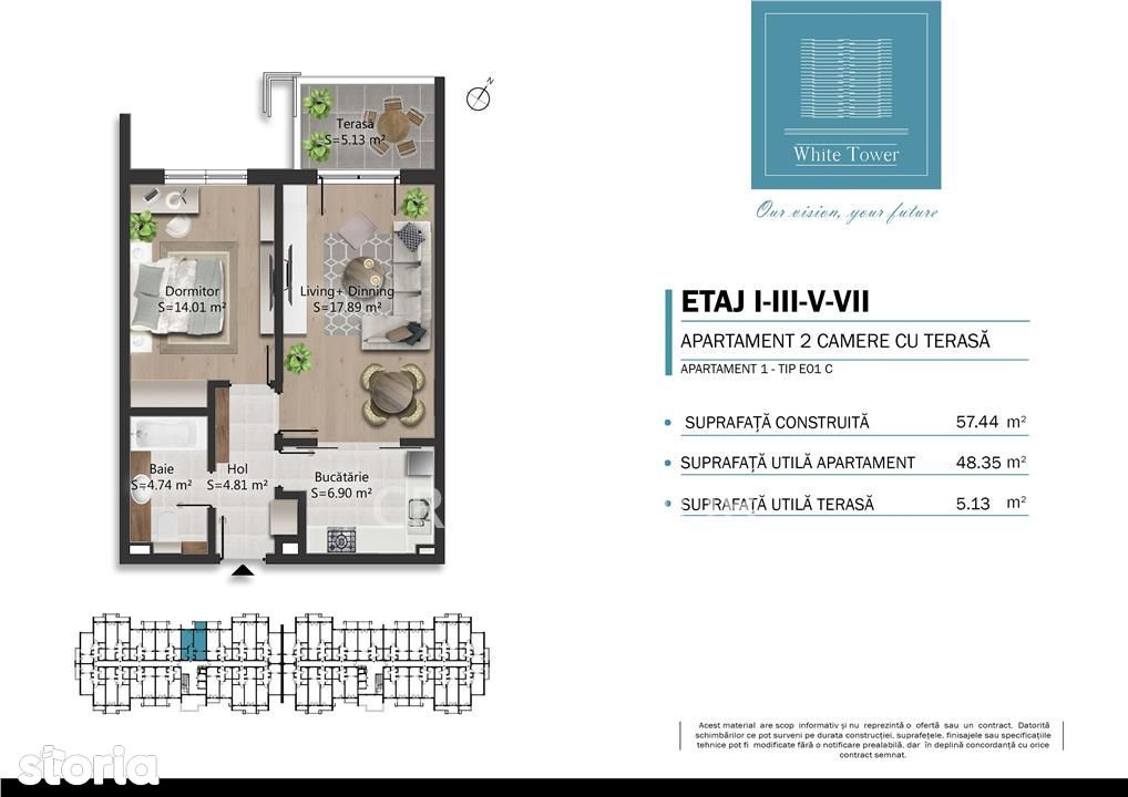 Apartament de vanzare, Prahova (judet), Strada București - Foto 12