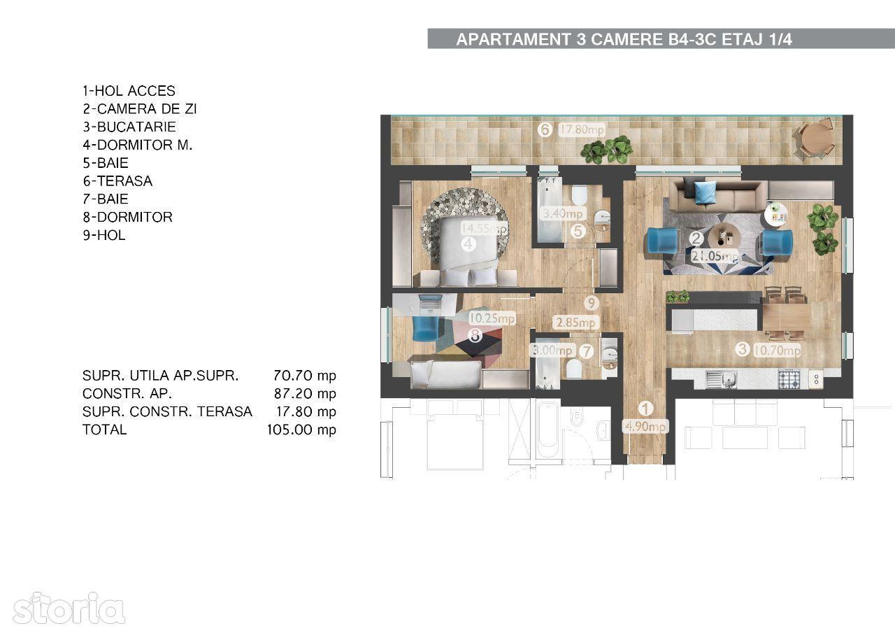 Apartament de vanzare, București (judet), Floreasca - Foto 1