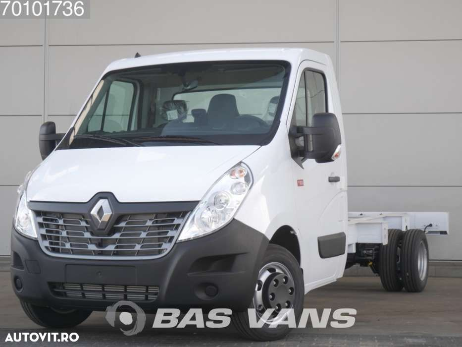 Renault Master chassis cabine 165PK Dubbellucht Navigatie Airco 3... - 1