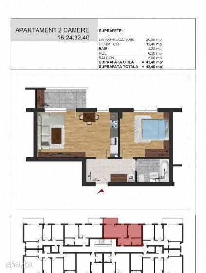 Apartament de vanzare, Ilfov (judet), Strada Monumentului - Foto 7