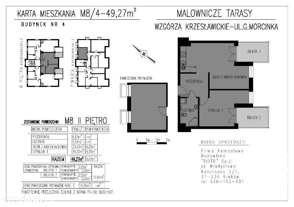 Mieszkanie na sprzedaż, Kraków, Wzgórza Krzesławickie - Foto 2
