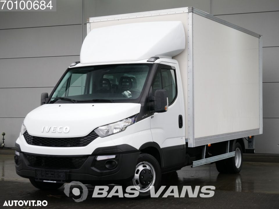Iveco Daily 35C15 3.0 150PK Bakwagen Laadklep Koffer 19m3 Airco Cruise - 1