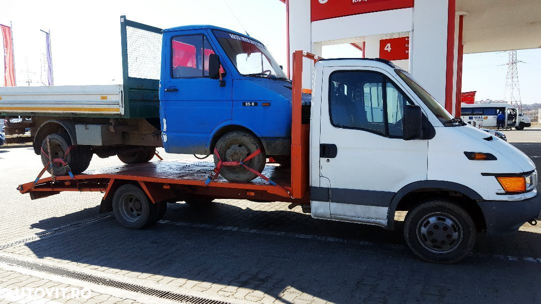 Iveco Daily 35C13 -2.8-6+1 trepte -Autoplatforma Iveco Daily 35C13 ptr. Tractari/Transport auto vehicule - 34