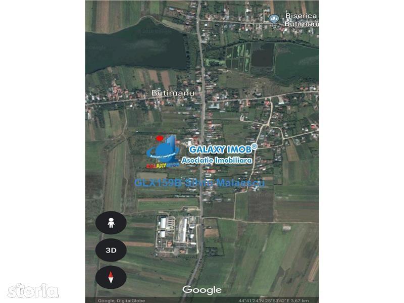 Teren de Vanzare, Dâmbovița (judet), Butimanu - Foto 2