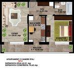 Apartament de inchiriat, Ilfov (judet), Măgurele - Foto 12