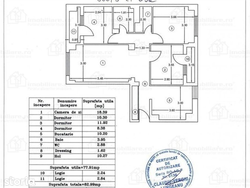 Apartament de vanzare, Argeș (judet), Strada C. A. Rosetti - Foto 11