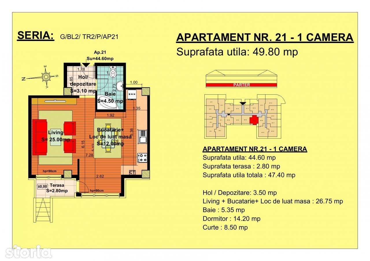 Apartament de vanzare, Brașov (judet), Strada Nicoale Labiș - Foto 4