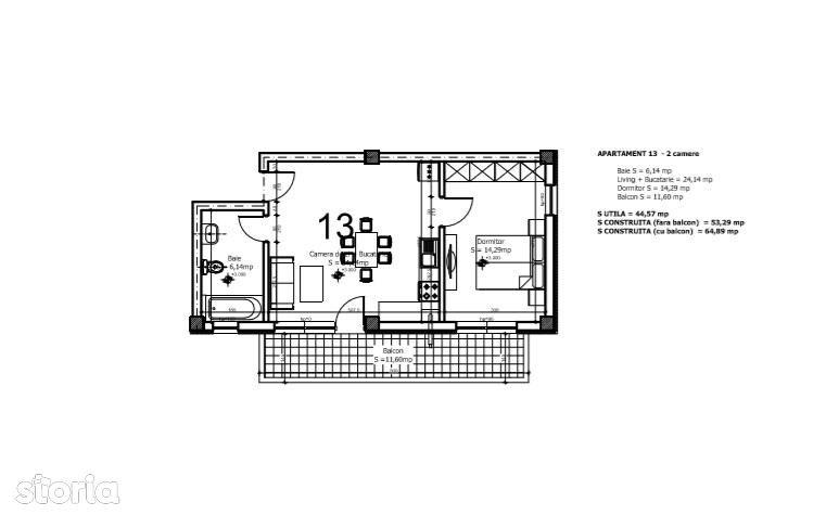 Apartament de inchiriat, Ilfov (judet), Otopeni - Foto 13