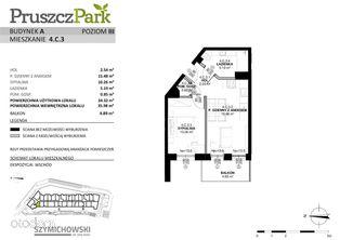 Pruszcz Park, budynek A, mieszkanie 4.C.3