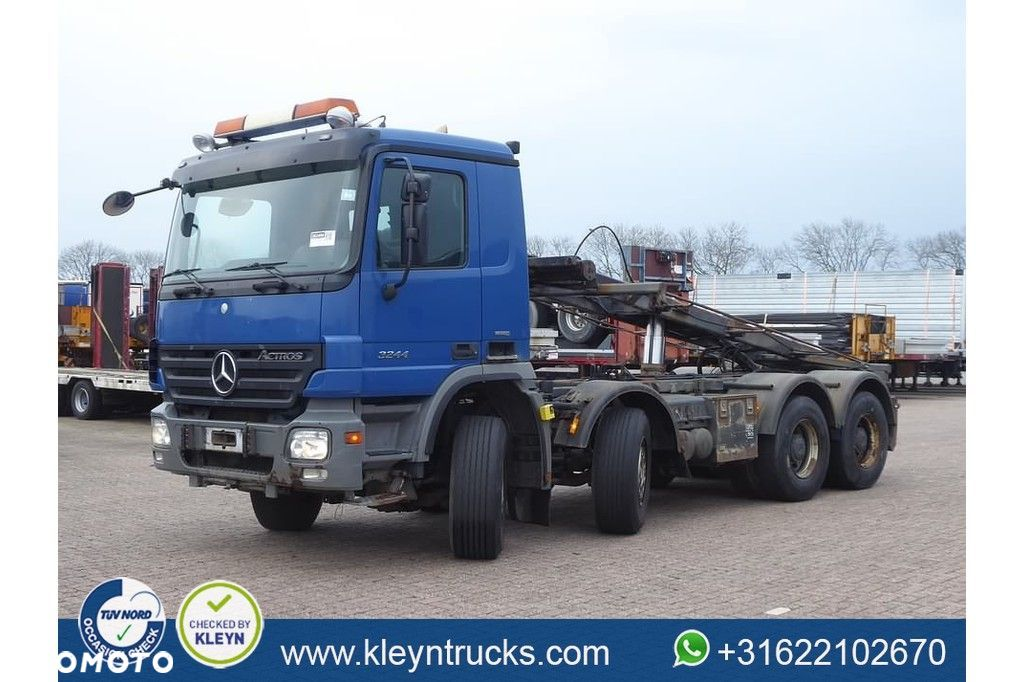Mercedes-Benz ACTROS 3244  Mercedes-benz Actros 3244 8x4 full steel eps - 1