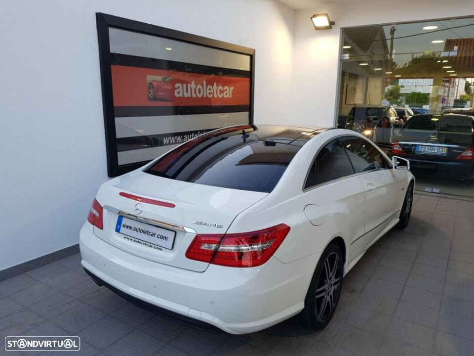Mercedes-Benz E 250 CDI COUPE AMG EDITION - 4