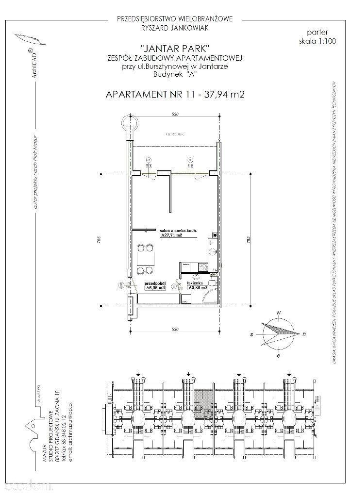 Mieszkanie na sprzedaż, Jantar, nowodworski, pomorskie - Foto 1