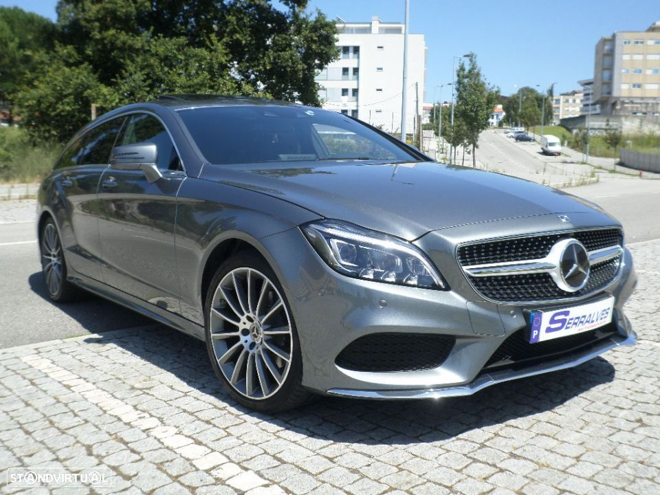 Mercedes-Benz CLS 220 d Shooting Brake AMG 9GTronic - 1