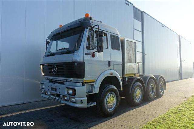 Mercedes-Benz Sk3350 8x4 Manual Full Steel Hub Redcution Retar - 5