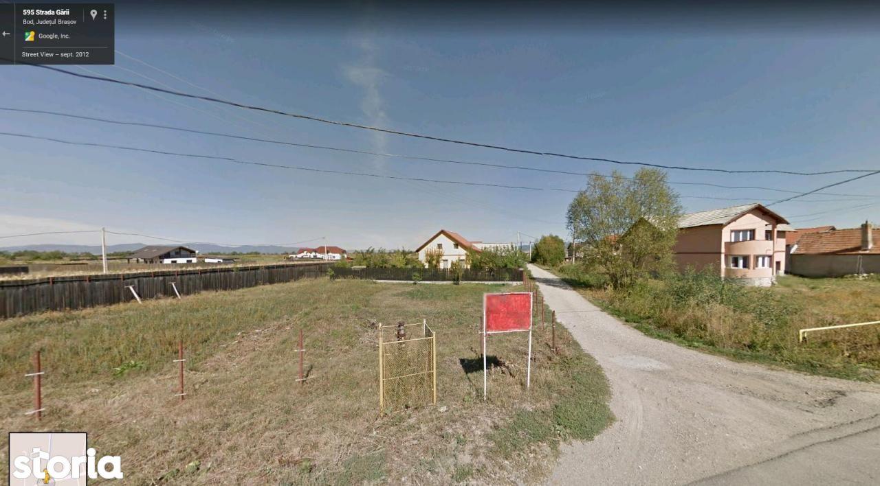 Teren de Vanzare, Brașov (judet), Bod - Foto 1