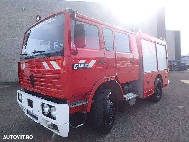 Renault G 230 + MANUAL + FIRE TRUCK + 35889KM ! - 3