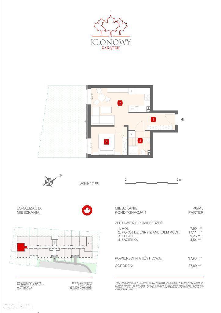 Mieszkanie na sprzedaż, Kamieniec Wrocławski, wrocławski, dolnośląskie - Foto 1008