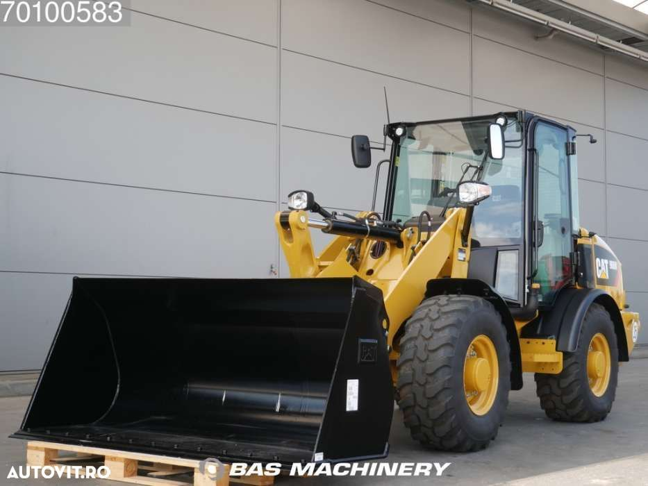 Caterpillar 906 M Bucket and forks - ride controle - warranty - 1