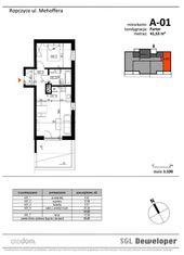 Mieszkanie dwu-pokojowe z tarasem