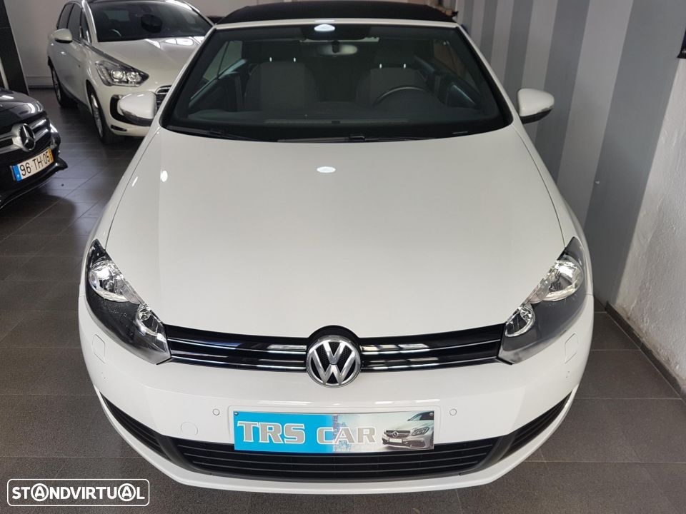 VW Golf Cabriolet 1.6 TDI Bluemotion - 1