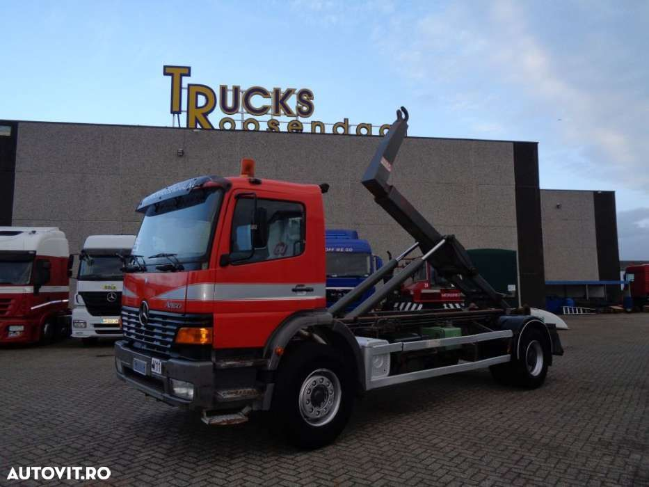 Mercedes-Benz Atego 1828 + PTO + Manual + Hook - 1