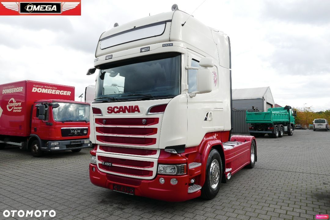 Scania R 490 Euro 6 z Ad Blue * OMEGA Gniezno * - 1