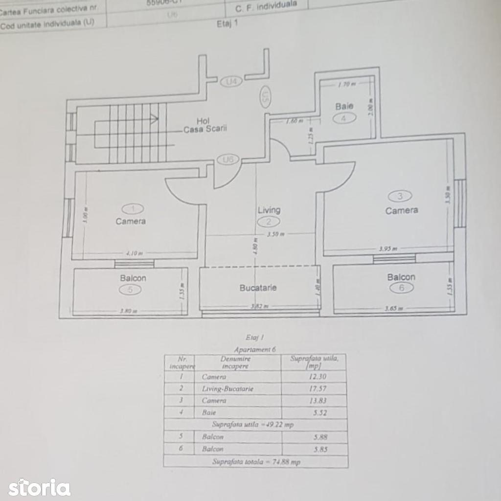 Apartament de vanzare, Maramureș (judet), Strada Cloșca - Foto 7