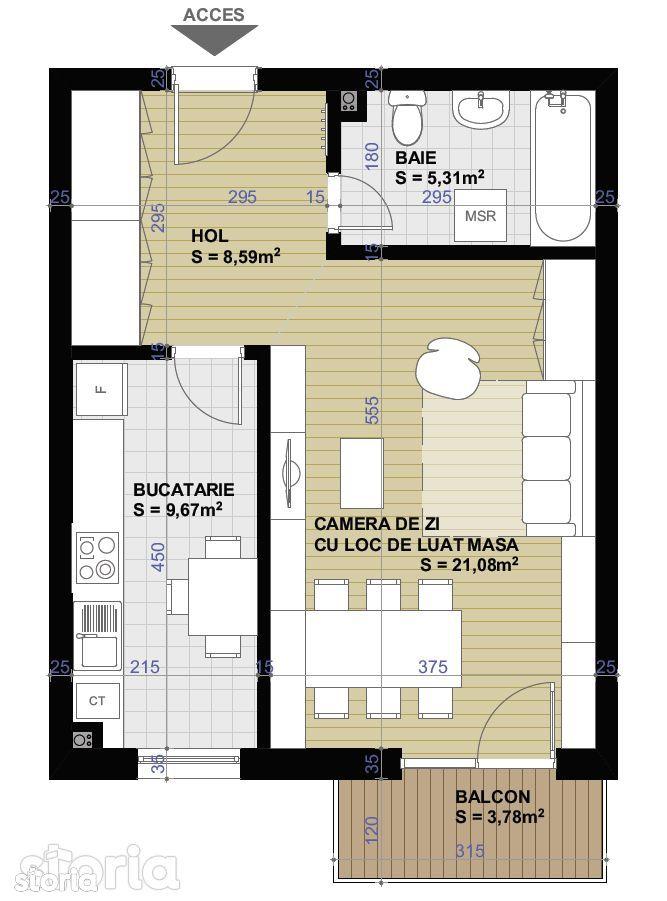 Apartament de vanzare, Cluj-Napoca, Cluj, Apahida - Foto 5