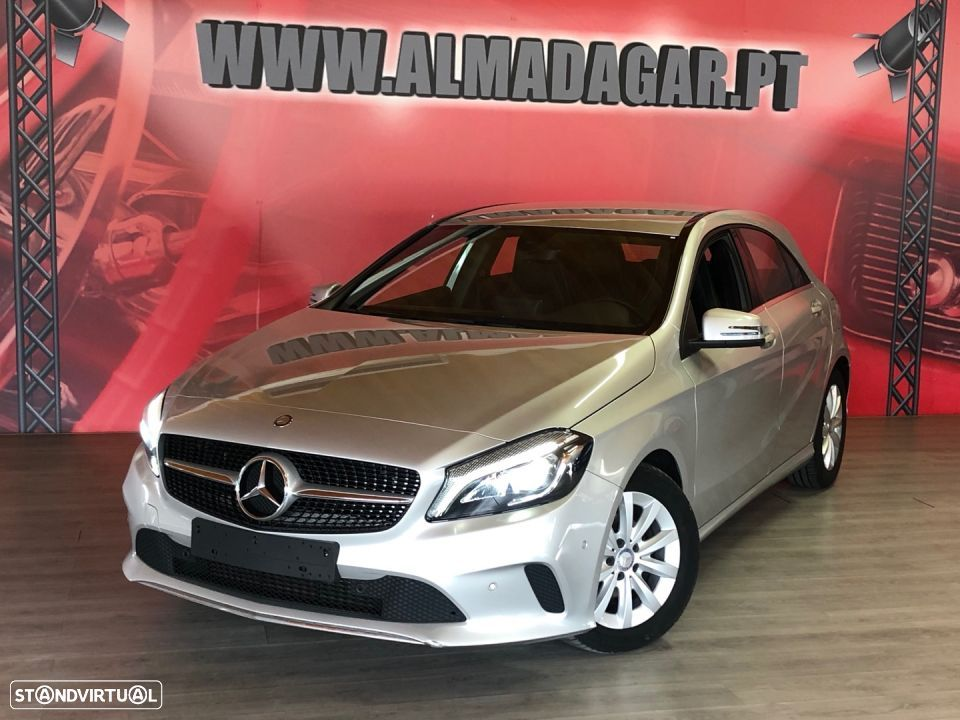 Mercedes-Benz A 180 D Style 7 G TRONIC GPS LED`S - 1