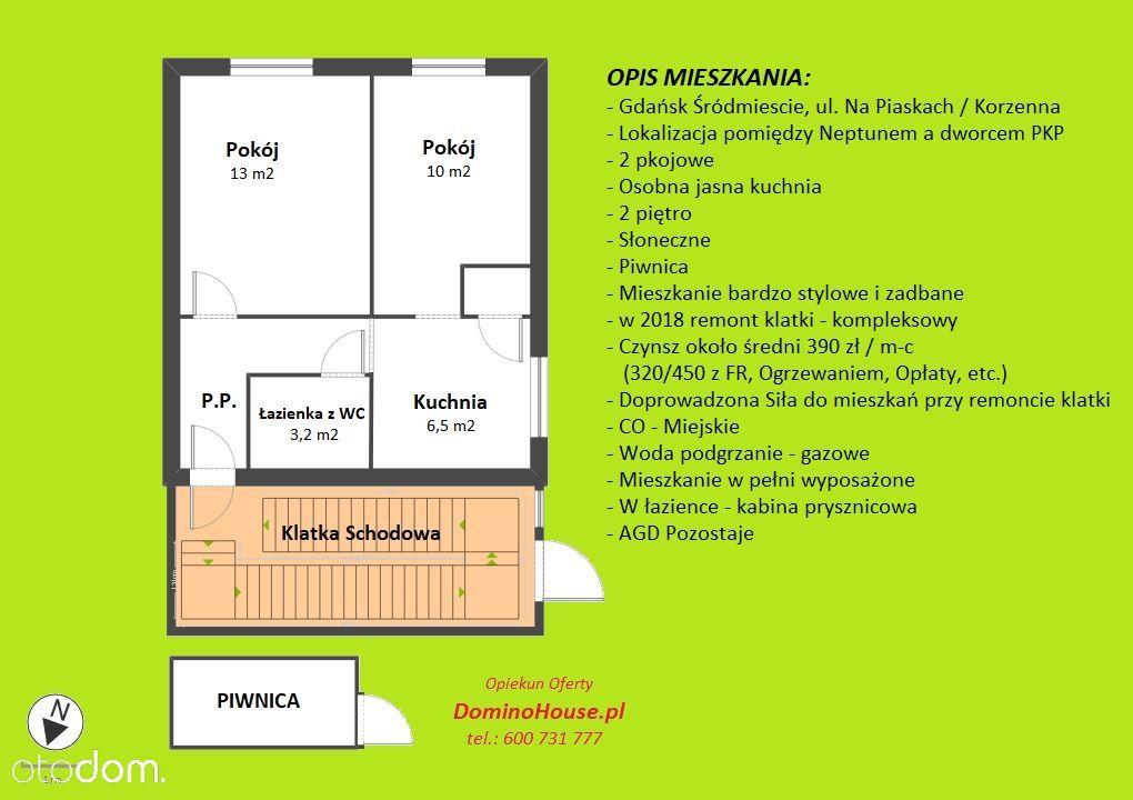 Mieszkanie na sprzedaż, Gdańsk, Śródmieście - Foto 14