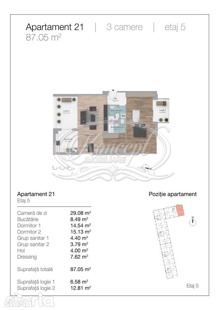 Apartament de vanzare, Cluj-Napoca, Cluj, Gheorgheni - Foto 13