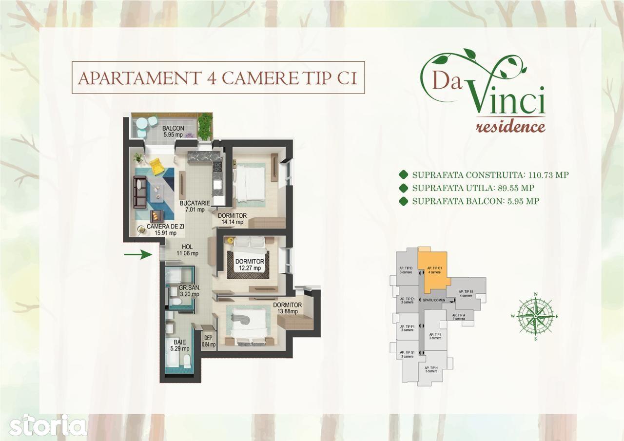 Apartament de vanzare, București (judet), Calea Văcărești - Foto 1