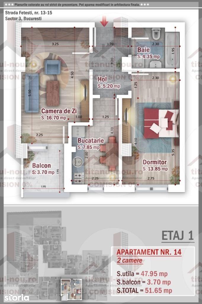 Apartament de vanzare, București (judet), Aleea Giurgeni - Foto 1