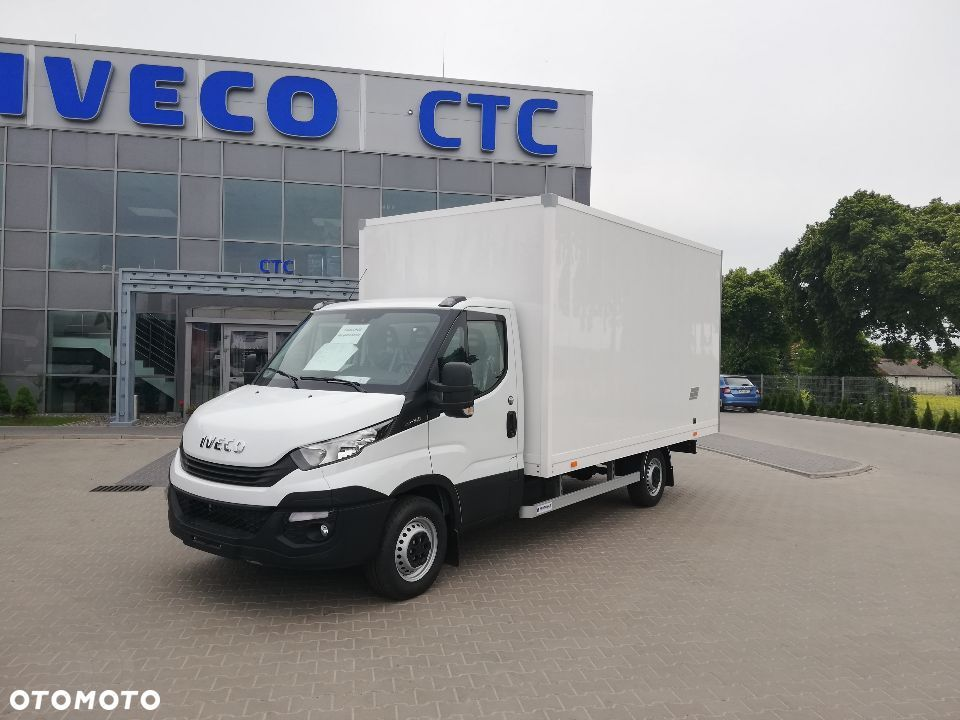 Iveco DAILY 35S14 KONTENER PARTNER 8 EP, DRZWI BOCZNE  kontener Partner na 8 EP, drzwi boczne, Wyprzedaż Rocznika w ASO - 2
