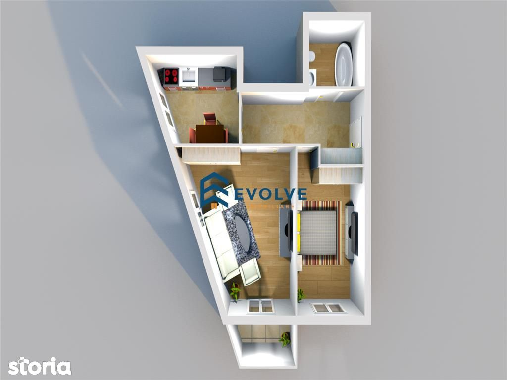 Apartament de vanzare, Iași (judet), Strada Aurel Vlaicu - Foto 1