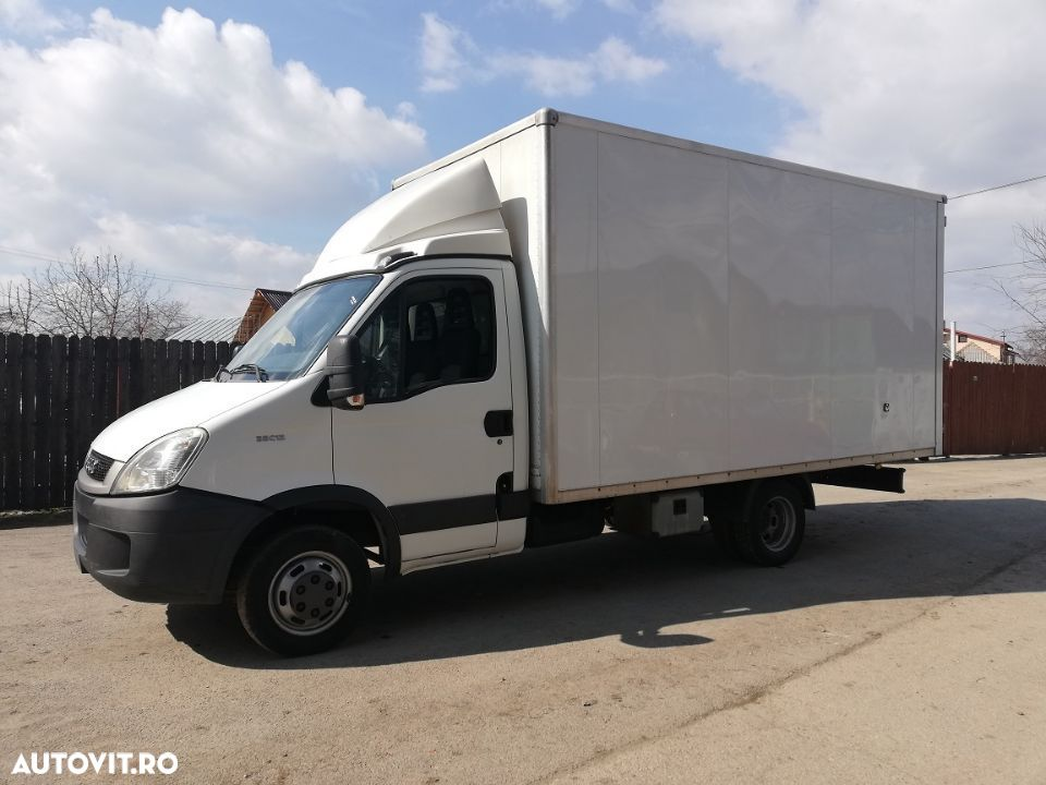 Iveco Daily 35C13 cu box inchis , import, clima , finantare leasing - 8